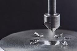 Countersink drill bit make sink in hole