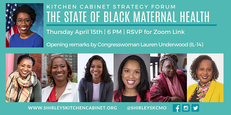 Kitchen Cabinet Strategy Session: The State of Black Maternal Health