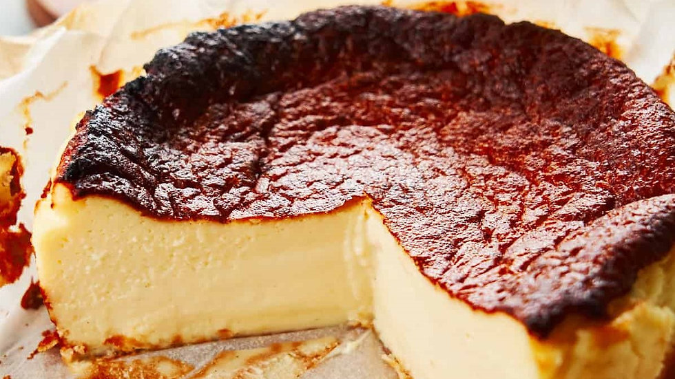 Basque Burnt Cheesecake (3 Flavours)
