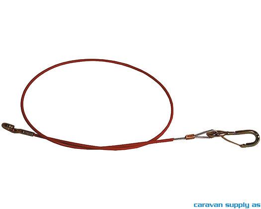 AL-KO Sikkerhetswire m/karabinkrok 1 m