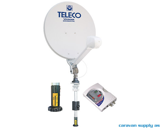 Teleco Voyager Digimatic 85cm m/mast manuell
