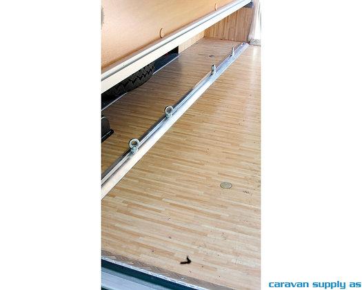 Skinne Fiamma Garage Bars 200x4x2,5 cm - 2 stk