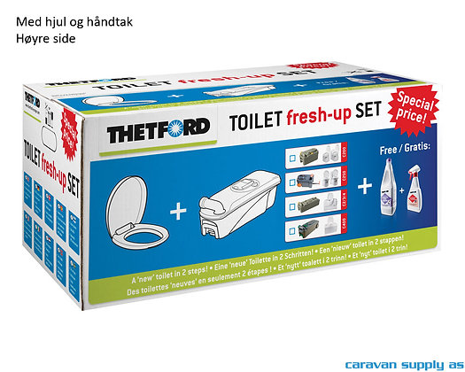 Thetford Fresh-Up Set C2/C3/C4 (høyre)