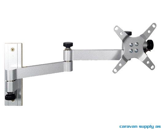 "TV-feste Carbest XL m/2 armer 16cm 30"" 15kg alu sølvgrå"