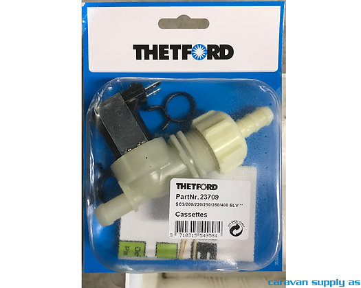 Thetford Elektrisk ventil til C3/C200/C250/C260/C400 -rett (23709)