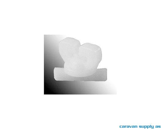 Gardinstopper 56125L - Løse Hvit