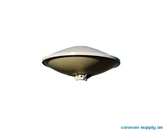 Antenne Globesat liten u/mast