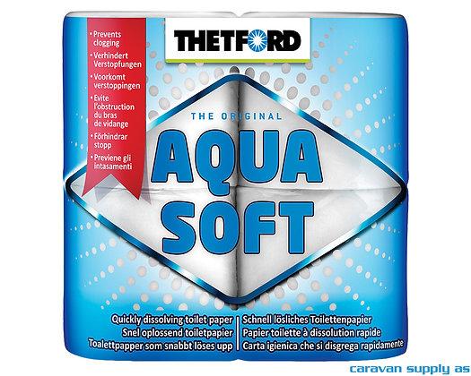 Toalettpapir Thetford Aqua Soft 4 pk.