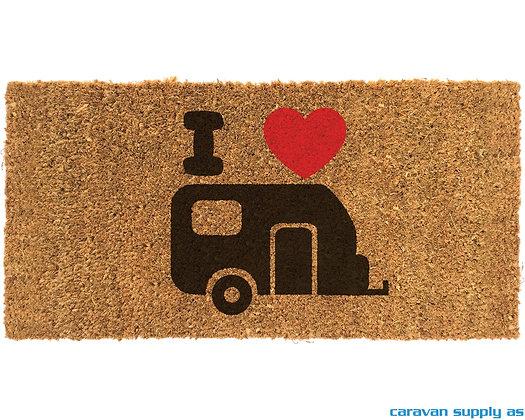 Dørmatte Arisol Cocco Caravan 50x25 cm - Kokos