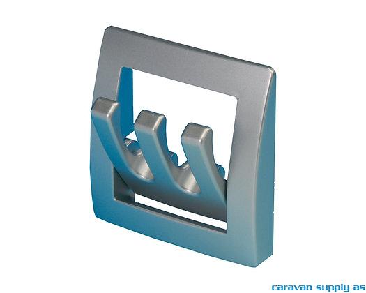 Garderobehenger sammenleggbar - Sølvgrå