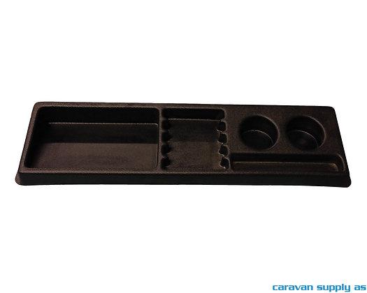 Koppholder til dashbord til VW T2/T3 1979-1990 60x17 cm