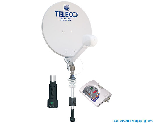 Teleco Voyager Digimatic 85cm m/mast+Motosat