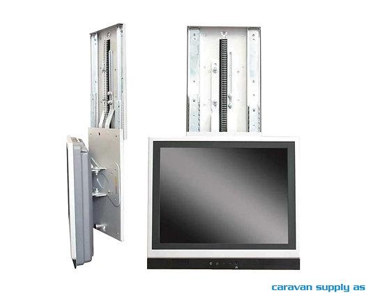 TV-feste Project 2000 vertikal ut.ned+rotasjon 8kg sølvgrå