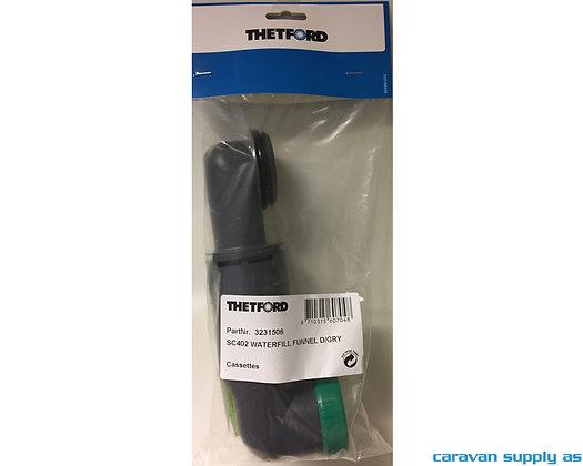 Thetford Vannpåfyllingsrør m/skrulokk til C402 (3231506)