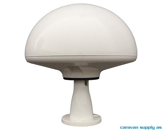 Antenne Tertek Bobil m/10cm feste hvit