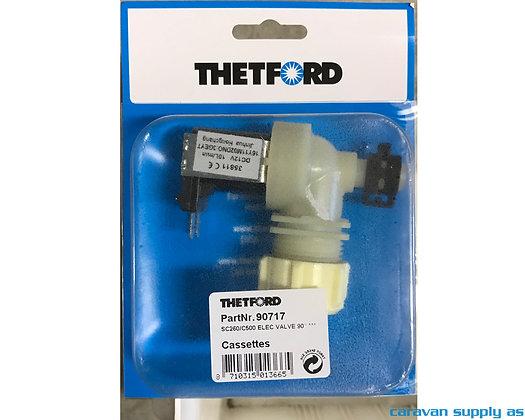 Thetford Elektrisk ventil tilC263/C503 - vinklet (90717)