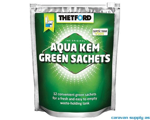 Thetford Aqua Kem Green Sachets 12 pk.