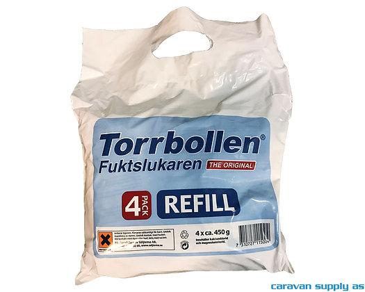 Torrbollen refill 4 stk 450 gr