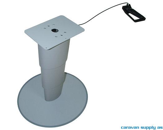 Bordunderstell Primero Comfort HPG H: 31-67 cm - Sølvgrå