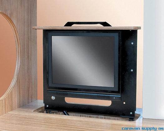 """TV-feste Project 2000 vertikal ut.opp+rotasjon 19"""" 8kg svart"""