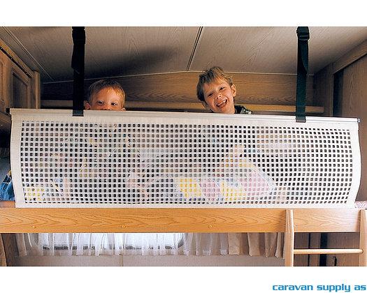 Sikkerhetsnett til alkove/køyeseng 150x58 mm