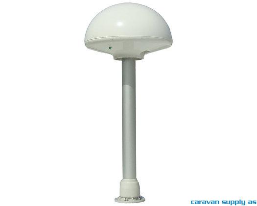 Antenne Tertek Caravan m/120cm mast hvit