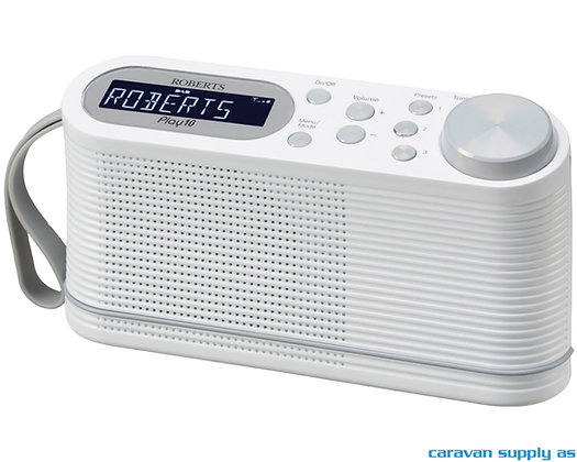 Radio Roberts Play 10 DAB+/FM hvit