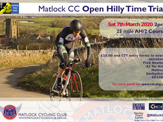 Matlock CC Open Hilly Time Trial