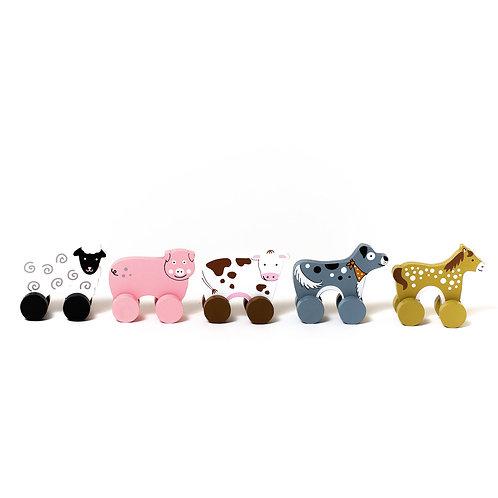 Jelly Cat   Mini Farm Rollers