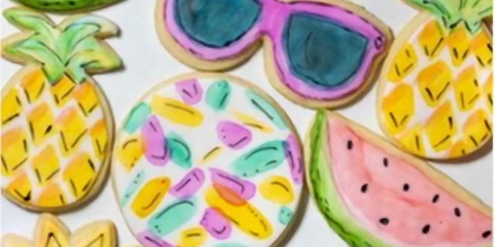 Opal & Onyx Cookie Painting Class