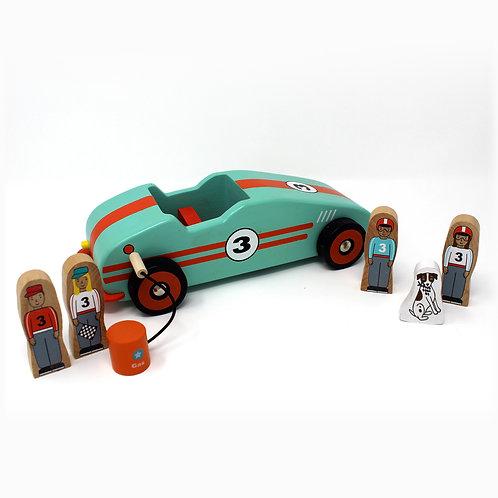 Jack Rabbit Creations | Retro Race Car