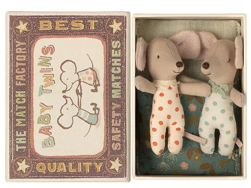 Maileg | Baby Twins in Box