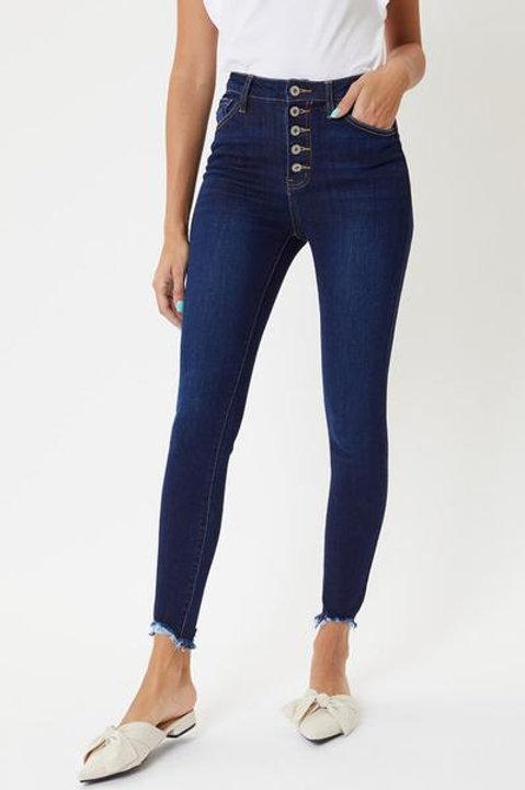 Kancan   Terri Ultra High Rise Skinny Jeans