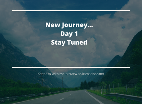 New Journey...Stay Tuned
