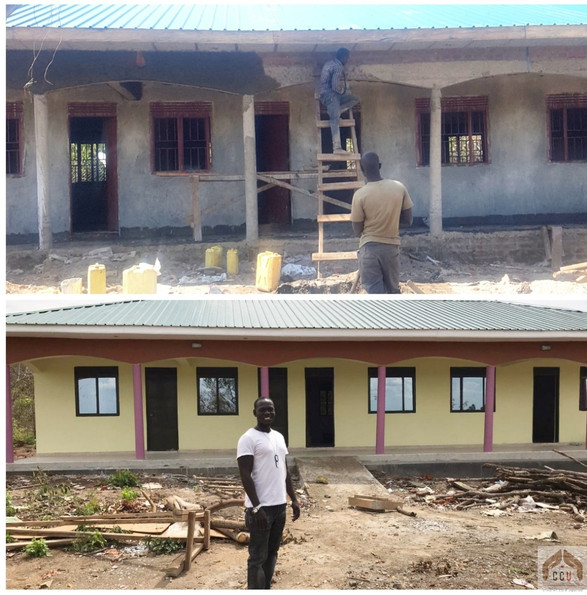 Out of town we are constructing our Rehabilitation Center