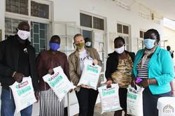 Distribution of 400kg Maize flour