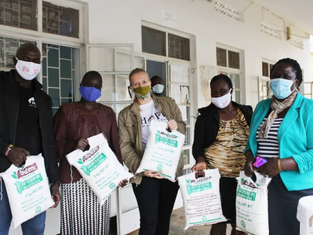 CCU donates relief food in response to the increase cases of Domestic and Gender Based Violence