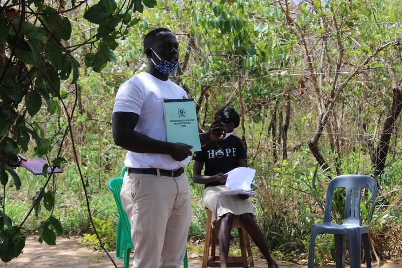 Our founder Odongo Fredrico