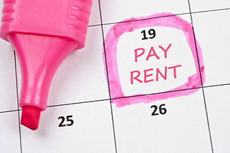 Calendar mark  with Pay rent.jpg