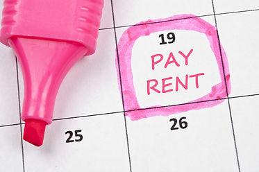 Calendar mark  with Pay rent.jpg