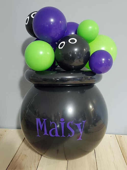 Mini Personalized Popping Cauldron