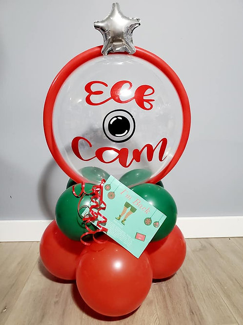 Elf Cam Welcome Balloon