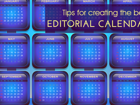 If You're Serious About Content You Should Have an Editorial Calendar