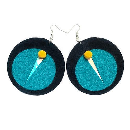 #lotus earrings