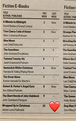 Wrapped Up in Christmas WSJ top ten.jpg