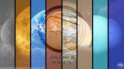 Galaxy 16 | Planets