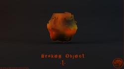 Broken Object #1