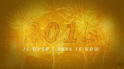 2015 is over