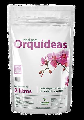 Composição para plantio de Orquídeas