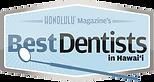 Honolulu Magazine Best Dentists Logo